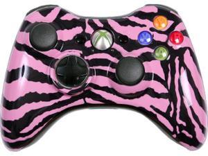 Custom Xbox 360 Controller: Pink Zebra