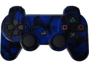 Custom PS3 Controller - Blue Skullz PlayStation 3 Controller