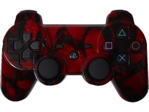 Custom PS3 Controller - Red Skullz PlayStation 3 Controller
