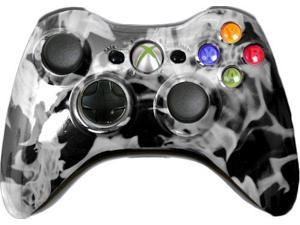 Custom Xbox 360 Controller: White Fire