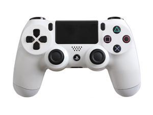 PlayStation 4 Dualshock 4 - Custom PS4 Controller with Glossy White Shell