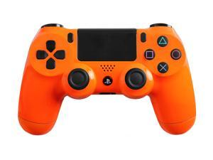 PlayStation 4 Dualshock 4 - Custom PS4 Controller with Glossy Orange Shell
