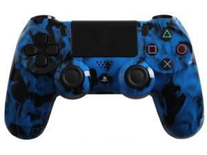 PlayStation 4 Dualshock 4 - Custom PS4 Controller with Blue Fire Shell