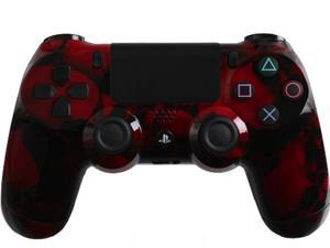 Custom PS4 Controller with Red Skullz Shell