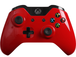 Custom Xbox One Controller Special Edition Glossy Red Controller