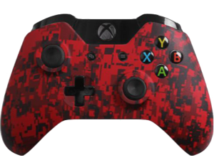 Custom Xbox One Controller Special Edition Red Urban Controller