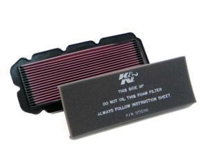 K&N HIGH FLOW PERFORMANCE AIR FILTER HA-1596 97-03 HONDA GL1500C VALKYRIE
