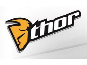 Thor Motocross Hanging 40-inch Outdoor Sign Black/Yellow 40""