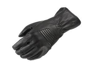 Scorpion Full Cut Leather Gloves Black MD
