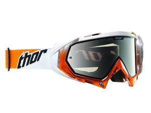Thor Hero 2013 MX/Offroad Goggles White/Orange