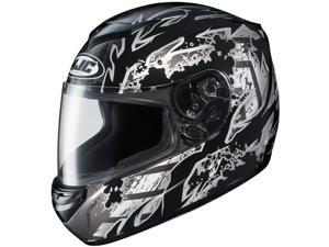 HJC CS-R2 Skarr Motorcycle Helmet Black SM