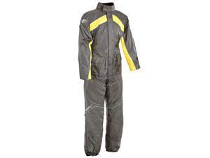 Joe Rocket RS-2 2-Piece Rainsuit Yellow/Black 2XL