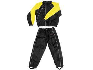 Frogg Toggs Hogg Togg Rainsuit Black/Yellow MD