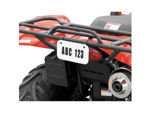 QuadBoss ATV License/Registration Kit White