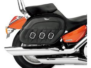 Saddlemen S4 Rigid-Mount Slant Saddlebags Drifter Fits 96-12 Harley FXD Dyna Super Glide