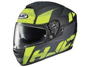 HJC RPHA-ST Knuckle Helmet Black/Flat Neon Green MD