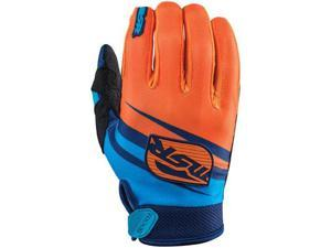 MSR Axxis 2015 MX Gloves Blue/Orange SM