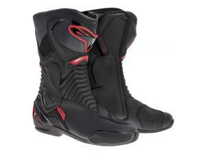 Alpinestars SMX-6 Mens Racing Boot Black/Red 44 EUR