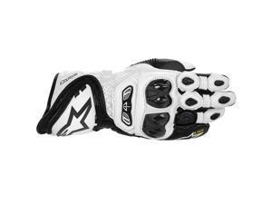 Alpinestars GP Tech Leather Gloves Black/White LG