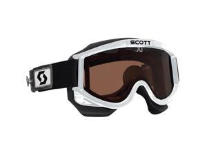Scott USA 87 OTG Speed Strap Snowcross Goggles White/Rose Lens