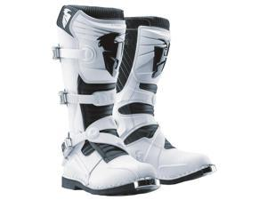 Thor Ratchet Motocross MX Boots White 10