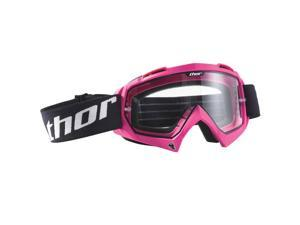Thor Enemy MX Motocross Goggles Pink Adult
