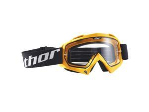 Thor Enemy MX Motocross Goggles Yellow Adult