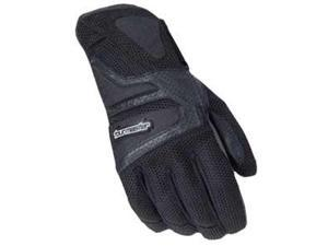 Tourmaster Intake Air Womens Gloves Black LG