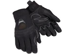 Tourmaster Airflow Textile Gloves Black LG