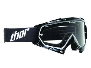 Thor Enemy Printed MX Motocross Goggles Splatter Black