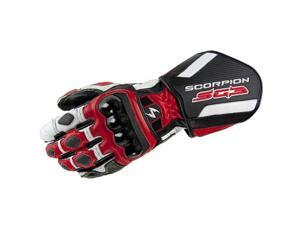 Scorpion SG3 Leather Street Gloves Red 2XL
