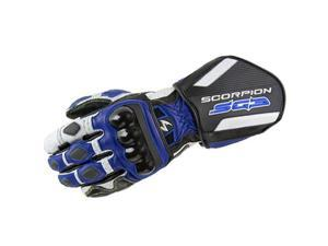 Scorpion SG3 Leather Street Gloves Blue SM