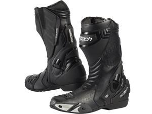 Cortech Latigo Air Road Race Boots Black 10