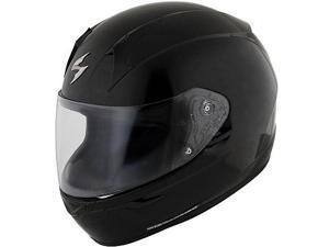 Scorpion EXO-R410 Solid Helmet  Black LG