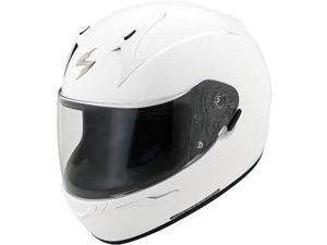 Scorpion EXO-R410 Solid Helmet  White SM