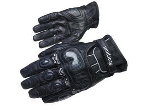Scorpion Fiore-Short Womens Leather Gloves Black/Black XS
