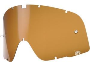 100% Barstow Legend Replacement Lens Bronze/Gold