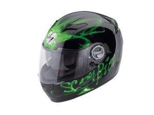 Scorpion EXO-500 Ardent Full-Face Helmet Green XS