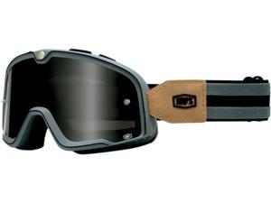 100% Barstow Legend MX/Offroad Goggles Gray/Black One Size