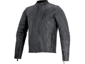 Alpinestars Monty Mens Leather Jacket Black XL