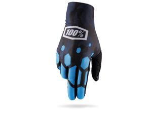 100% Celium Legacy MX/Offroad Gloves Camo Blue XL