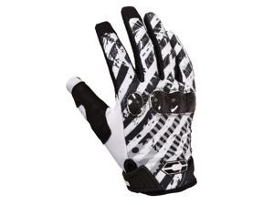Castle Streetwear Addict Gloves White/Black 2XL