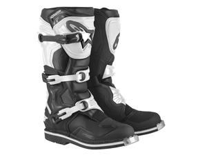 Alpinestars Tech 1 2016 MX/Offroad Boot Black/White 7