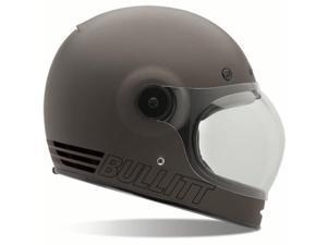 Bell Bullitt Retro Full Face Helmet  Matte Metallic Titanium LG