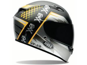 Bell Qualifier Airtrix Battle Helmet  Black/Yellow XL