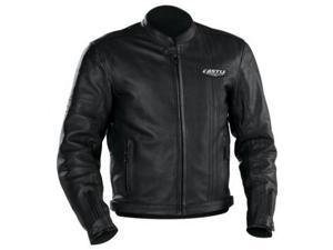 Castle Streetwear Vintage Leather Jacket Black SM