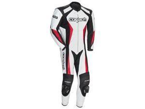 Cortech Latigo 2.0 RR 1-Piece Leather Race Suit White/Black/Red MD