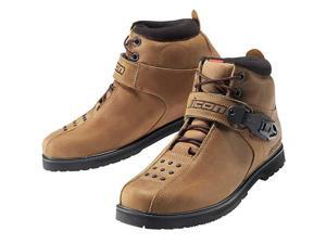Icon SuperDuty 4 Motorcycle Boots Brown 10