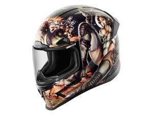 Icon Airframe Pro Pleasuredome 2 Helmet Black/Blue LG
