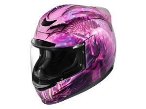 Icon Airmada Sweet Dreams Helmet Pink/Purple MD